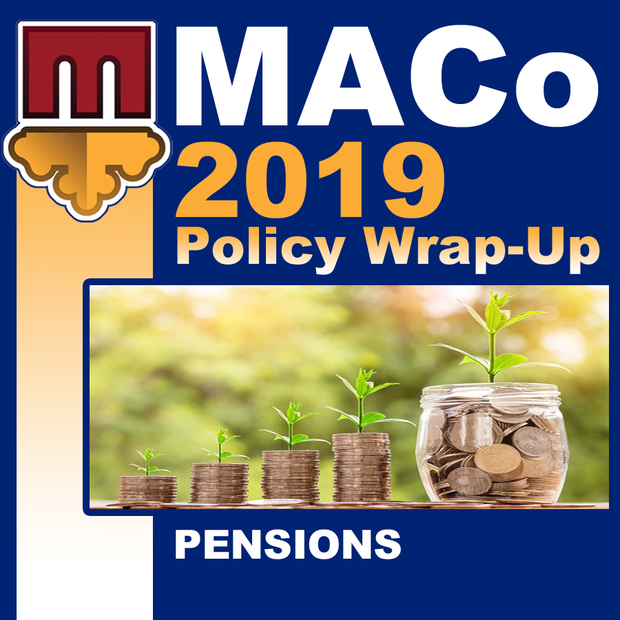 2019 End of Session Wrap-Up: Pensions