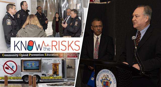 Montgomery Unveils Community Opioid Prevention Trailer