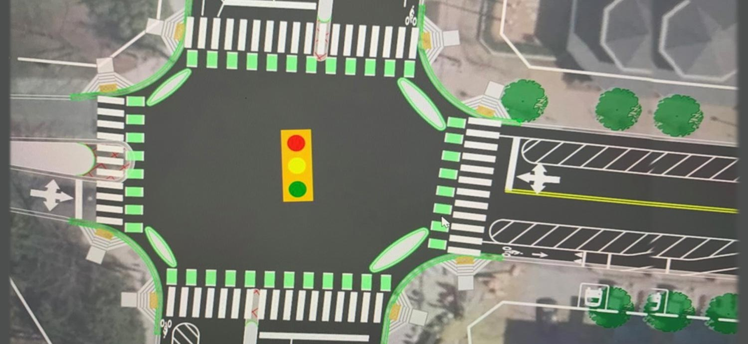 "Montgomery DOT Wins Award for Region's First ""Protected Intersection"""