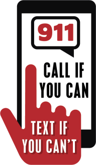 text_to_911_logo