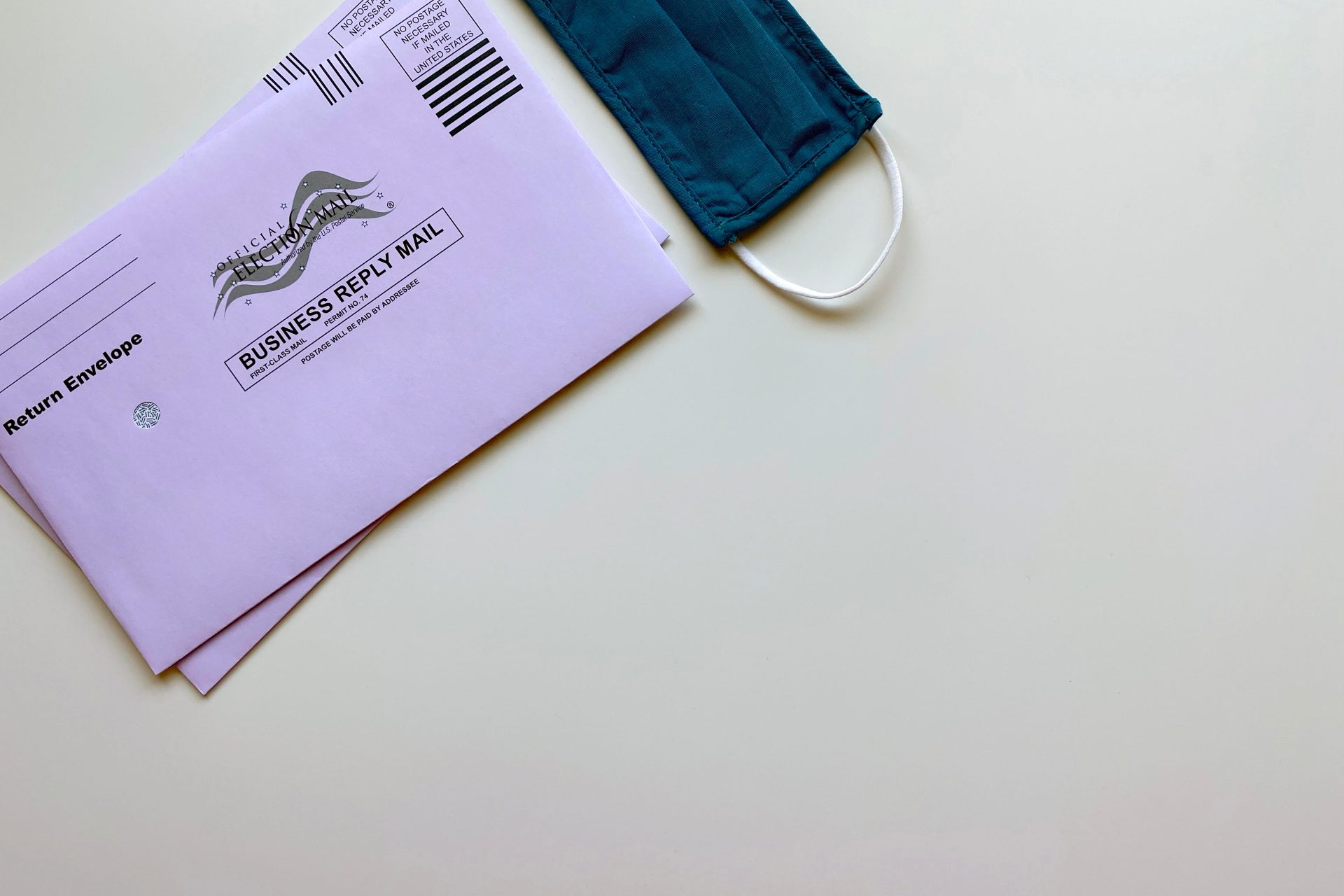 Get Your Ballot by Mail (Not Email) to Save Time and Money