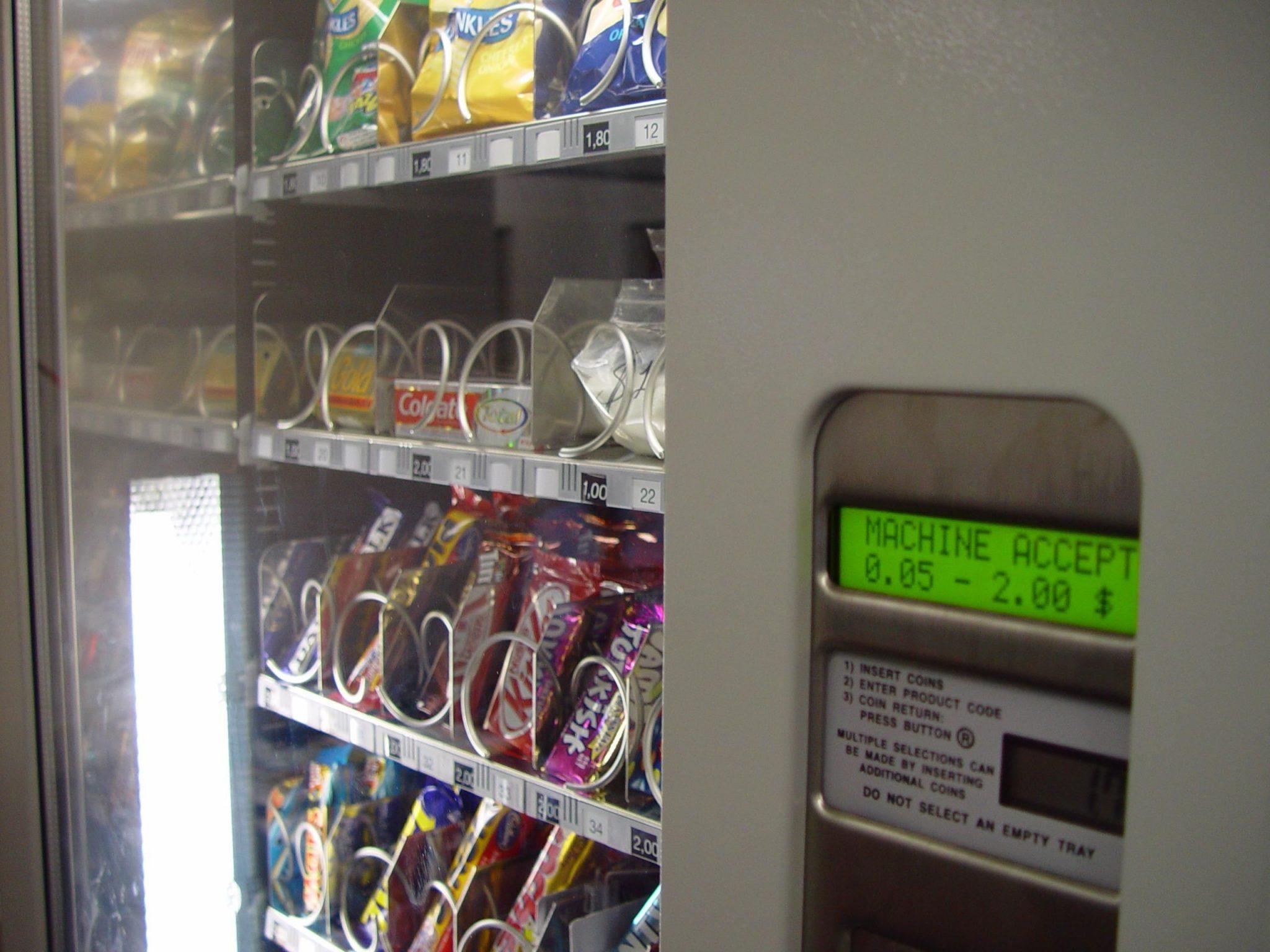 Howard County Seeking Healthier Vending Machines