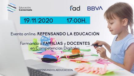 Repensando la Educación: Formando a familias y docentes en competencias digitales