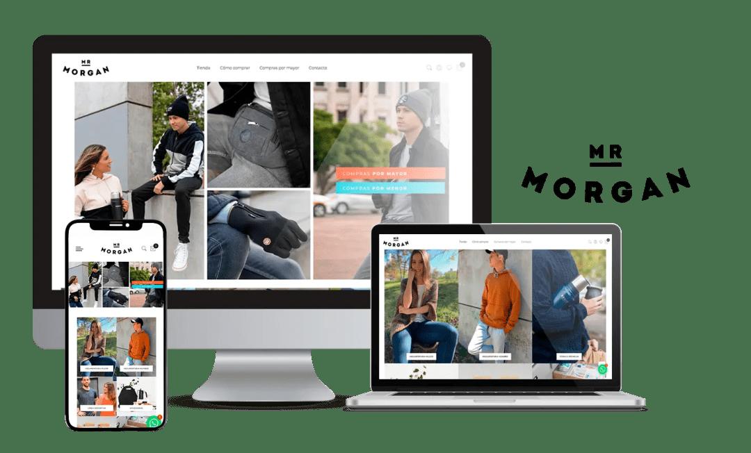 Desarrollo E-commerce Mr Morgan
