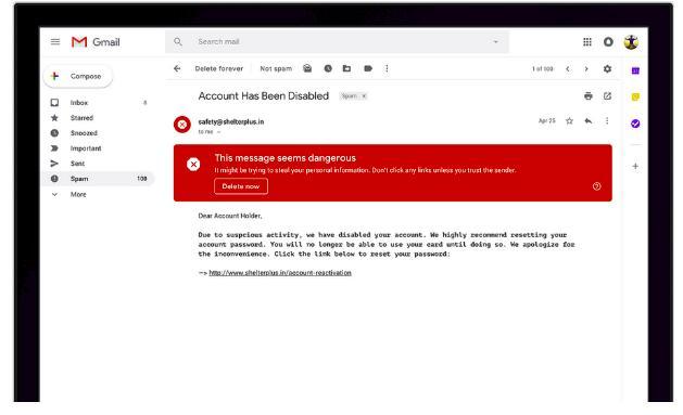 novo gmail alerta