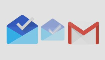 logos inbox by gmail e novo gmail