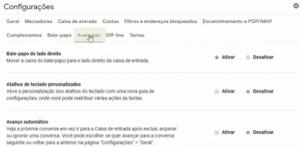 abra Painel de Visualização do Gmail