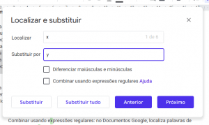 localizar-substituir-tudo-google