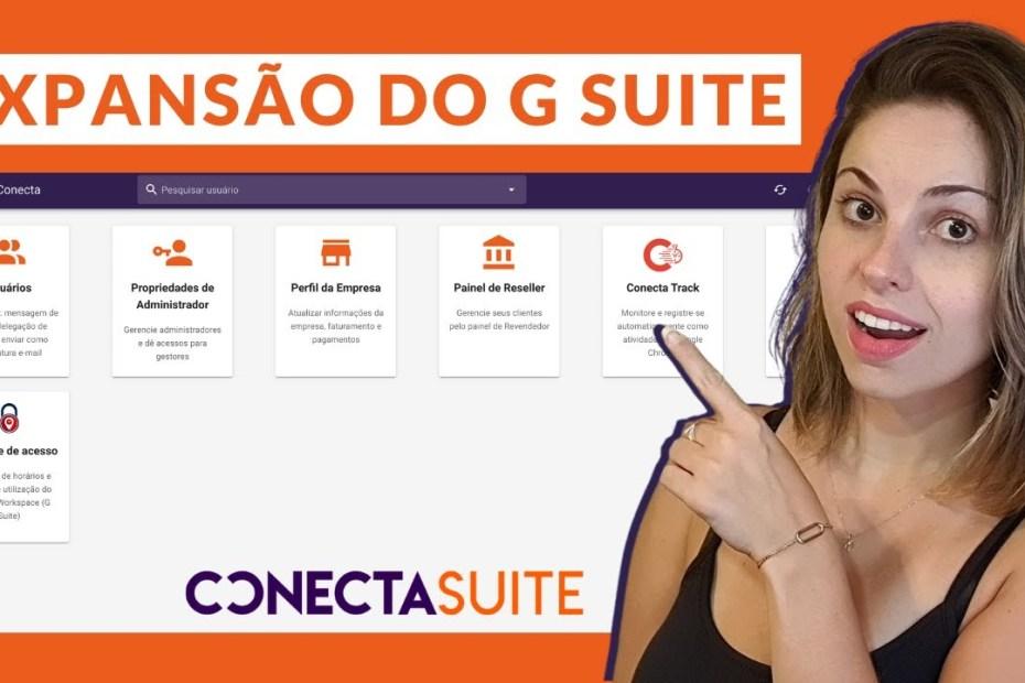 Conecta Suite: Plataforma para otimizar a gestão do G Suite