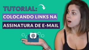 como adicionar link na assinatura de e-mail