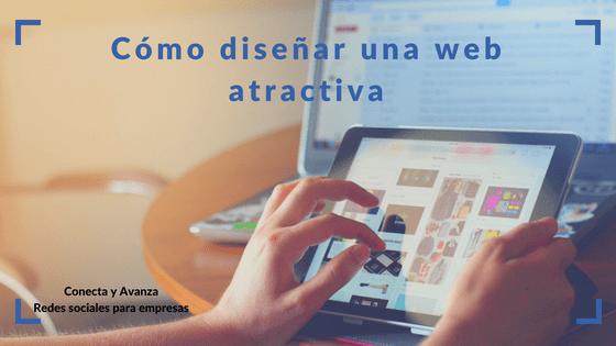 diseñar-web-atractiva-conectayavanza