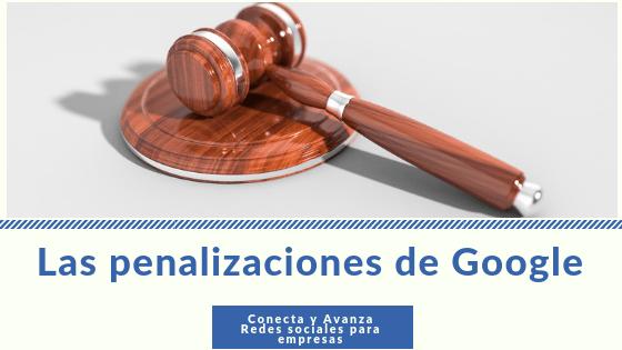 penalizaciones-Google-SEO-conecta y avanza
