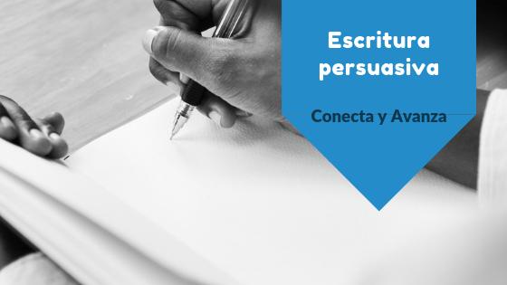 Escritura persuasiva copywriting - conecta y avanza