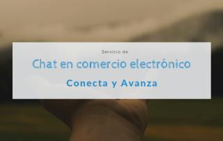 chat en comercio electronico - conecta y avanza