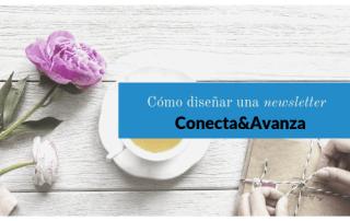 diseño newsletter - conecta y avanza