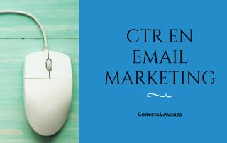 ctr en email marketing - conecta y avanza