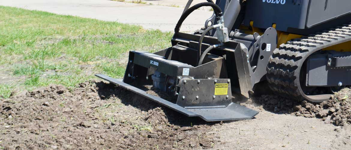 Coneqtec DC8000 Compaction Plate