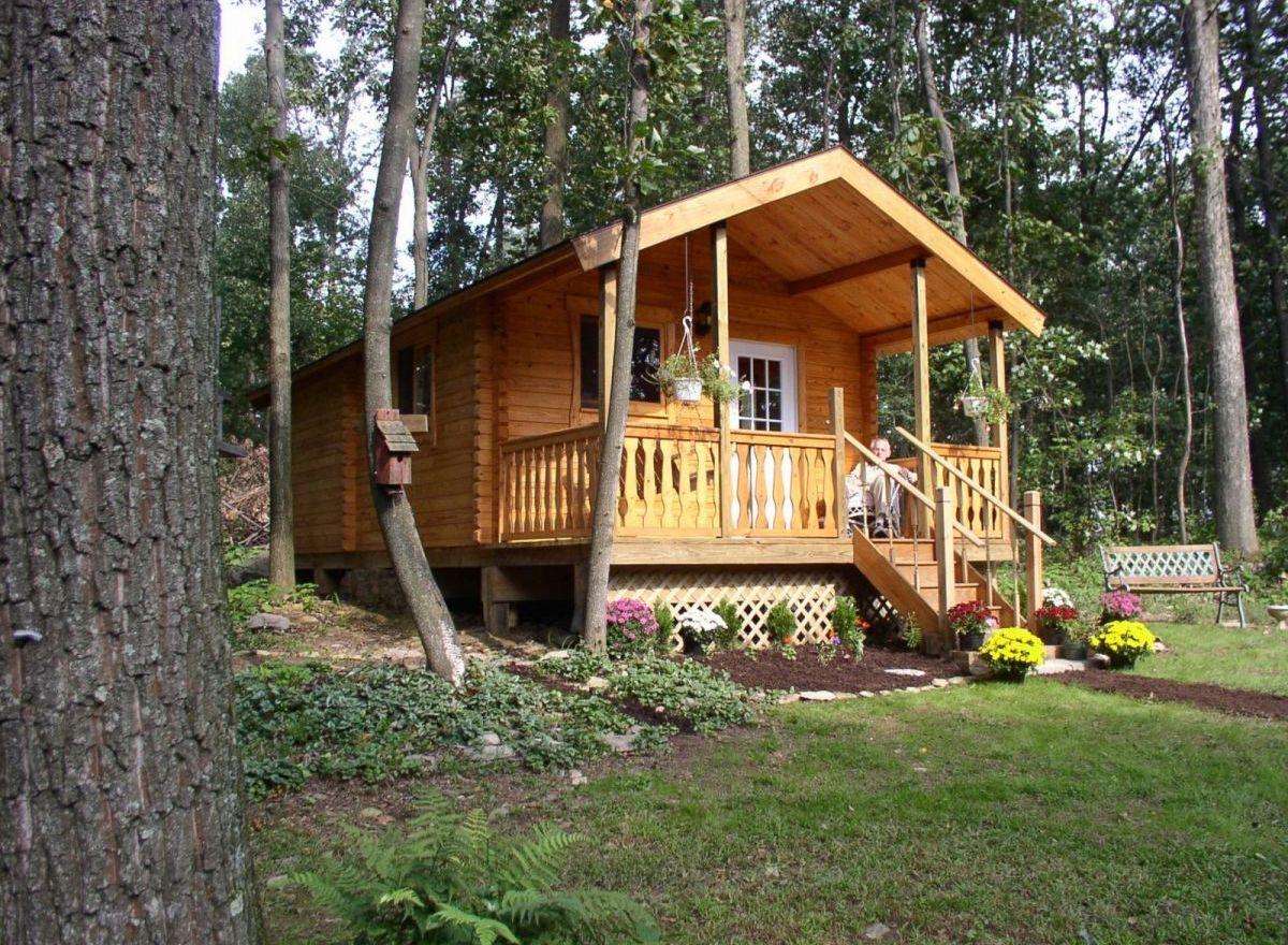 Cabin kits for sale serenity log cabin conestoga log for Log cabin packages for sale