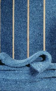 log home insulation - Denim insulation