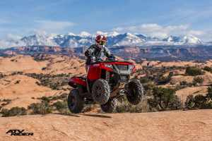 ATVs at the cabin - Moab Utah