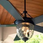 outdoor living - cabin porch ceiling fan