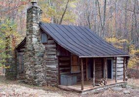 Haunted Cabins - Corbin Log Cabin