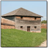 Haunted Cabins - Fort Meigs Log Bunkhouse