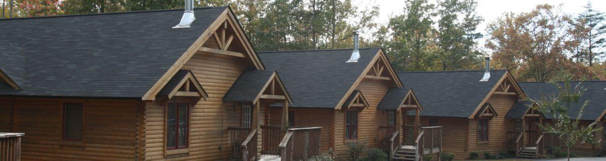 Conestoga Meadowbrook log cabin