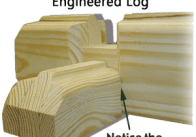 Engineered log - Everlast-Log-tight-fit
