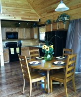 log cabin rental Set the Table