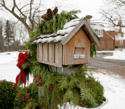 Cabin Decorations - Mailbox