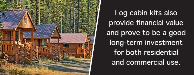 log cabin kits are an investment