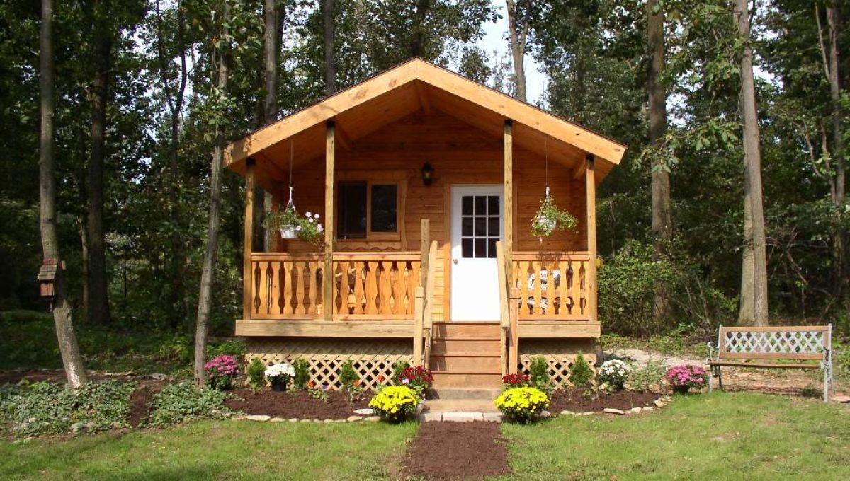 log cabin kits - Serenity