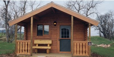 log cabin kit - getaway