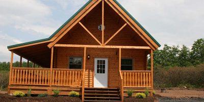 log cabin kits -Mountain king