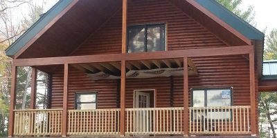 log home kits - timber ridge