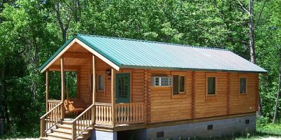 camping log cabin kits - kerawinds