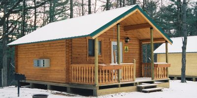 bunkhouse log cabin kits - cub lodge