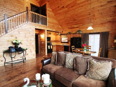 log home kits - alpine ridge