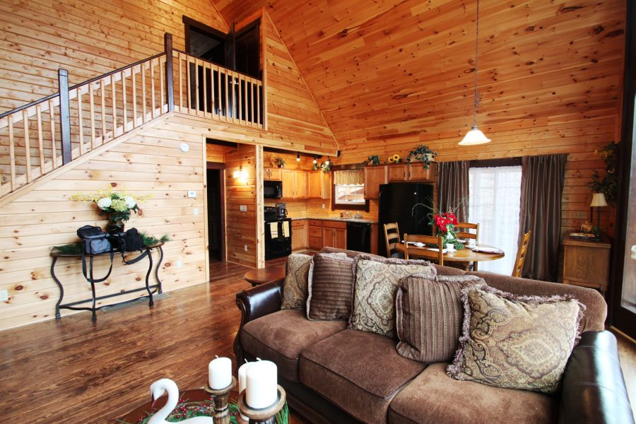 Tiny Log Cabin Kits