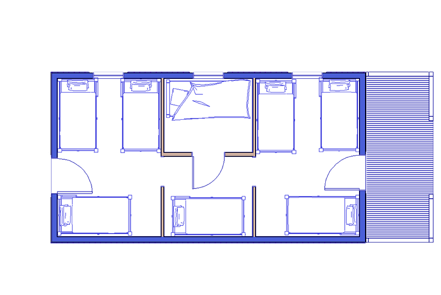 diagram of bunkhouse bunkhouse kit bunkhouses for campgrounds conestoga log cabins  bunkhouse kit bunkhouses for