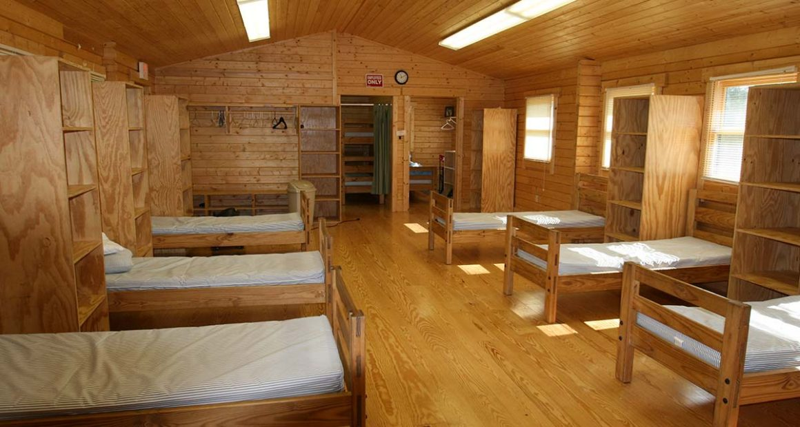 log cabin bunkhouse kit - tranquility