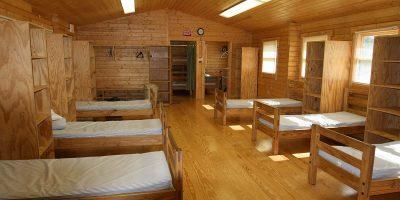 log cabin bunkhouse kit - tranquility
