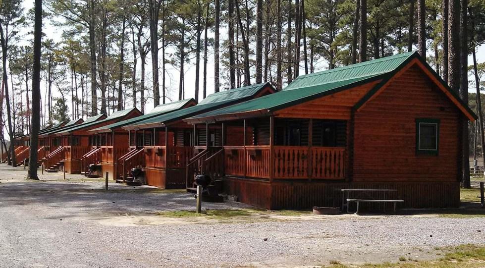camping log cabin kits - frontier