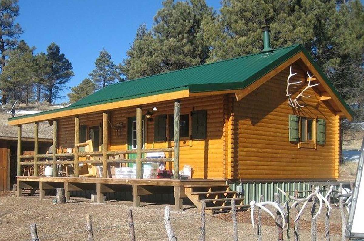 Log Cabin Kits   Trout Run