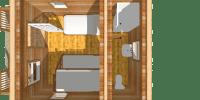 log cabin kits - getaway