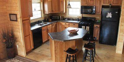 log cabin kits - killington