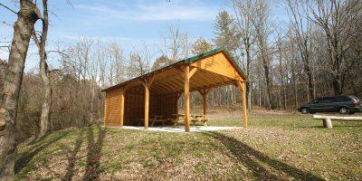 pavilion log kit