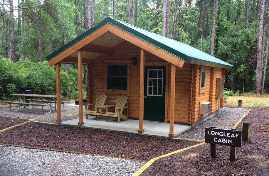camping log cabin kits