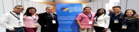 Instituciones del Plan Digital Itagüí y el Plan Saber Digital en el Encuentro Internacional Virtual Educa en Argentina 2018